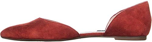NINE WEST Starship Mujer Metallic, rojo (rojo (Fiery Red)), 42 EU