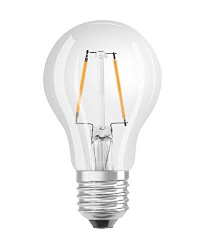 Osram Ampoule LED à Filament | Culot E27 | Forme Standard | Blanc Chaud 2700K | 2,8W (équivalent 25W)