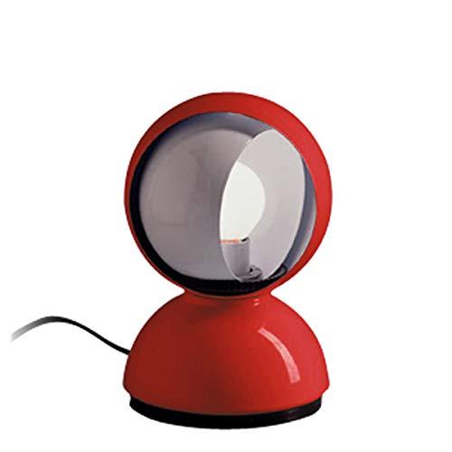 Artemide Eclisse Nachttischlampe, Rot