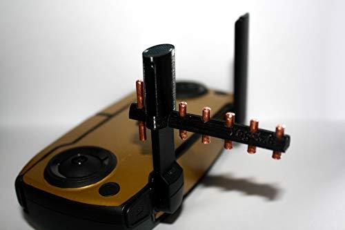 Yagi 2020 Style Drone Prints 5.8GHz Copper Antenna Range Extender For Dji Mavic (White)