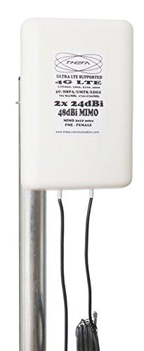 Antena móvil de banda ancha de la comunicación 48dBi de Theta para el router HomeFI Huawei B310 diseñada para tres redes