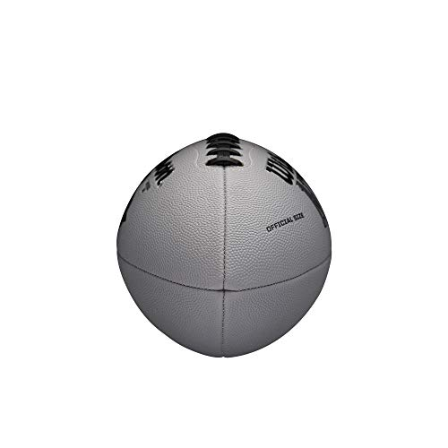 Wilson NFL MVP Official Football - Gray Version, Official (Age 14+)