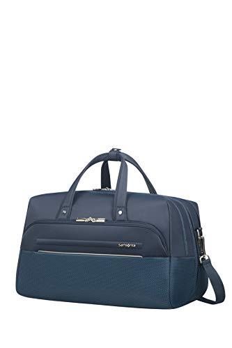 Samsonite B-Lite Icon - Bolsa de Viaje, Duffle 45/18, 45 cm, 36.5 litros, Azul (Dark Blue)