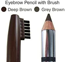 Eyebrow Pencil with Brush 03 Grey Brown Professional