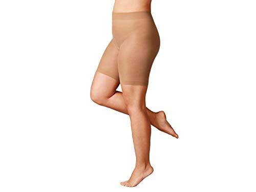 Esmara Strumpf Panty 40 DEN Lycra® 2 Stück Natur XXL 52/54