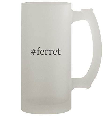 #ferret - 16oz Frosted Beer Stein, Frosted