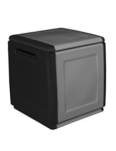 Art Plast CB1/N/S Cube Baule Portatutto, Grigio/Nero