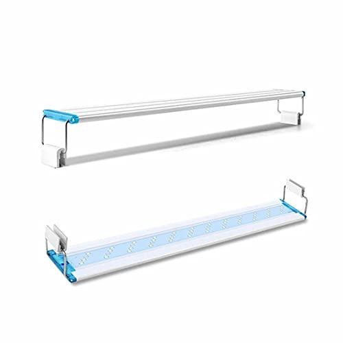 MOHAN88 Super Slim LEDs Aquarium Lighting Lumière des Plantes Aquatiques Extensible Étanche Clip on Lampe pour Fish Tank 90-260V