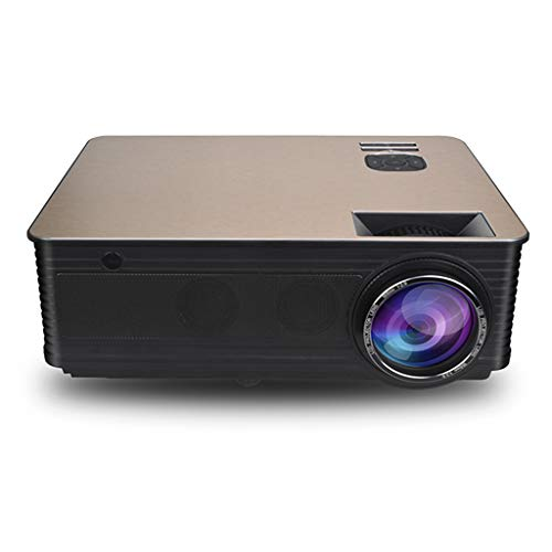 JCOCO HD 3000 lumen LED-projector Android Smart WiFi multimedia projector home theater beamer compatibel met laptops, games, smartphones 1080P Android +WIFI Wit