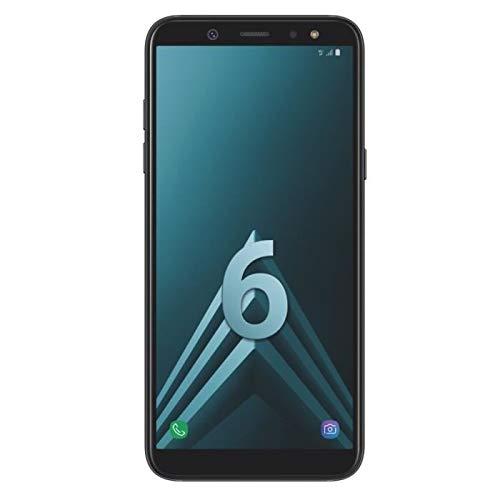 Samsung Galaxy A6 Smartphone, 14,25 cm (5,6 Zoll), 32GB Interner Speicher & 3GB RAM, black - Französische Version