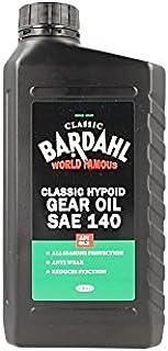 BARDAHL Classic Hypoid Gear Oil SAE 140 API GL3 Olio Ingranaggi e Differenziali Monogrado 100% Minerale Per Auto D'epoca 1 LT