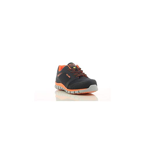 Safety Jogger Ligero - Scarpe antinfortunistiche, 37 EU (Taglia produttore: 4 UK), Nero/Arancione