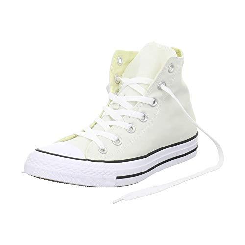 Converse Herren Sneaker Hellbeige-Weiss 153864C CTAS Hi Buff weiß 212543