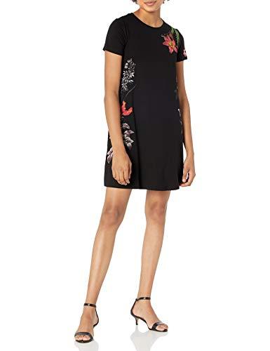 Desigual Womens Vest_Caroline Casual Dress, Black, M