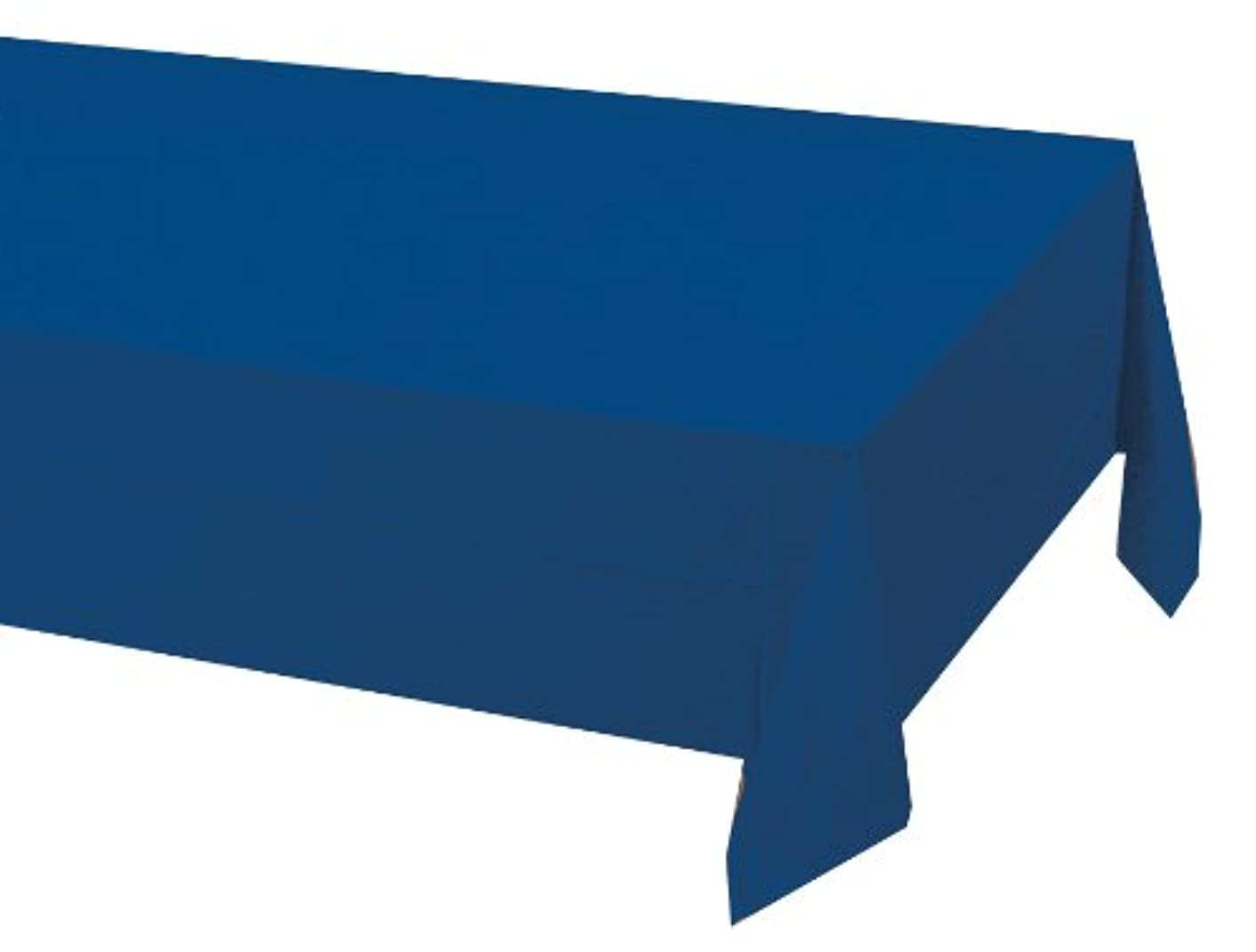 Creative Converting Touch of Color Paper Banquet Table Cover, Navy (710242)