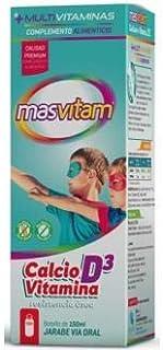 Masvitam Calcium y Vitamina D3-150 ml