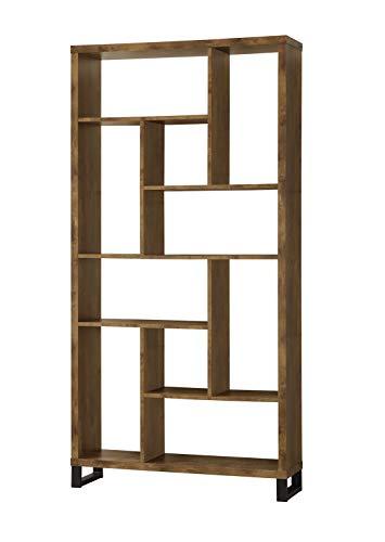 Sauder Select Collection 5-Shelf Bookcase, Salt Oak finish
