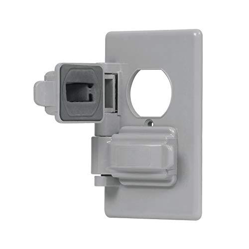 Volteck PPIN-DOS, Placa dúplex para intemperie línea standard