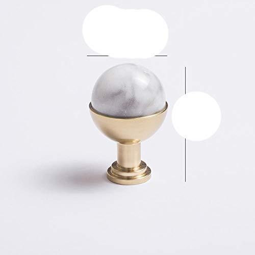 Manija de gabinete nórdico Armarios de armario Puerta de cocina Ventana Aparador cajón Muebles de dormitorio Componente-Jade blanco C