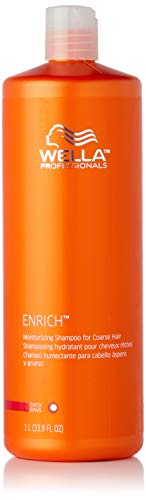 Wella Enriched Moisturizing Shampoo for Coarse Hair, 1L