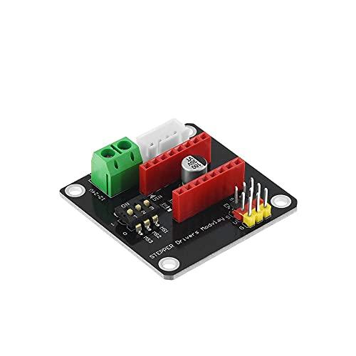 42 Tablero de expansión del Conductor del Motor Paso a Paso DRV8825 A4988 3D Módulo de protección de Piezas de impresión para Arduino UNO R3 Rampas1.4 Bricolaje