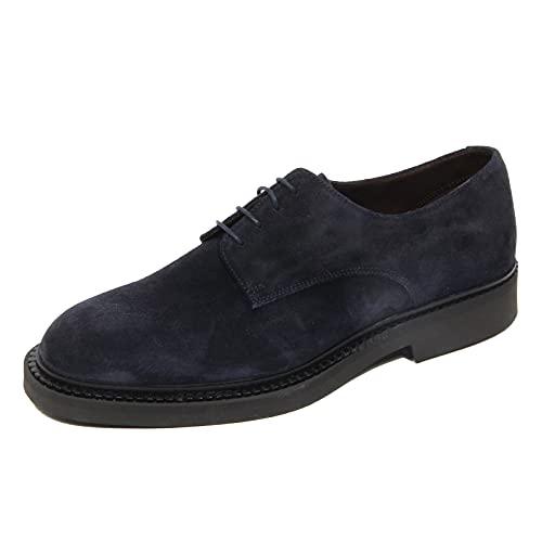 Fratelli Rossetti G3646 Scarpa Allacciata Uomo One Blue Suede Shoes...