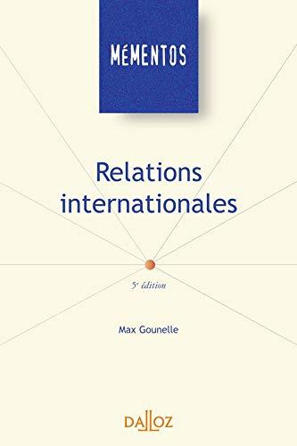 Relations internationales - 5e éd.