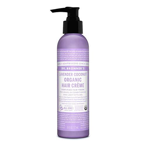 Dr. Bronner's - Organic Hair Crème (Lavender Coconut, 6 Ounce)