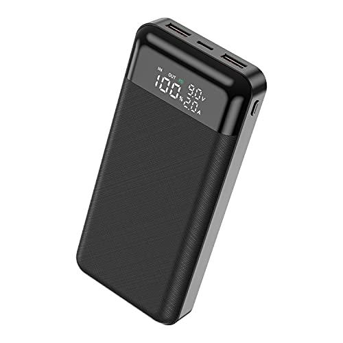 モバイルバッテリー 大容量30000mAh 急速充電対応 PD3.0 QC3.0 小型 コンパクト 持ち運び便利 3台同時に充電でき PSE認証済 LED残量表示 Type-C USB&Micro USB入力ポート 滑り止め仕様 汚れにくい 出張/地震/災害/アウトドアなどの必携品