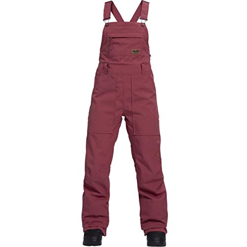 Burton Dames Snowboard Broek WB Avalon Bib Pant Rose Brown M
