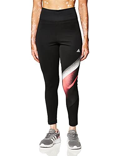 adidas Damen Uc Fb Inc Leggings, Black/White, 3X