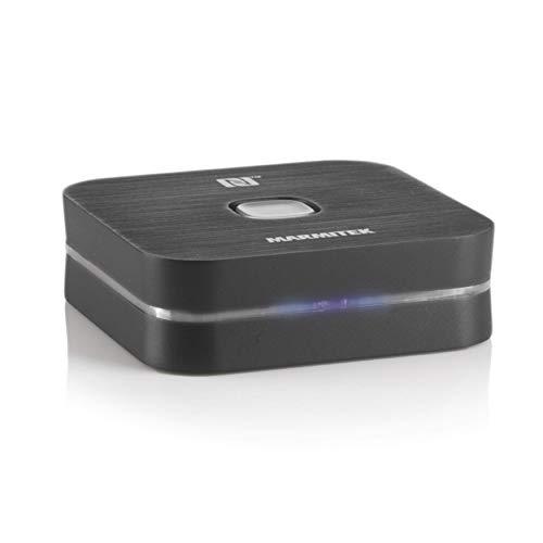 Bluetooth Audio Empfänger - Marmitek BoomBoom 80 - NFC - Bluetooth zu 3,5mm jack - A2DP Stereo - Standby Funktion - Abbruchtaste - Streamen Sie Musik drathlos über Bluetooth auf Ihre Stereoanlage