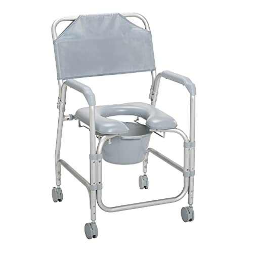 Drive Medical K. D. Aluminum Shower Chair/Commode...
