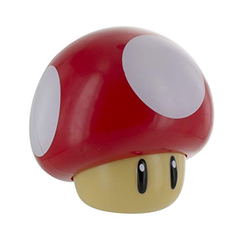 Super Mario Luz con Sonido Mushroom, Multicolor, One Size