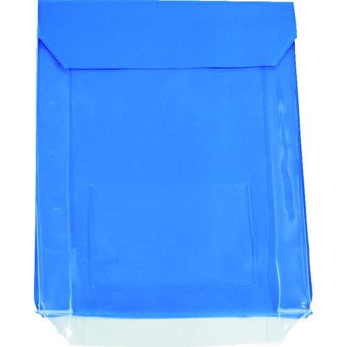 TRUSCO(トラスコ) TRUSC0 通い袋 マチ付 ブルー TKM3037BL