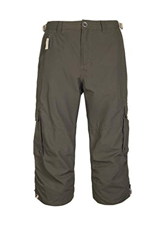 G.I.G.A DX Enrik 3/4 Casual Hose Homme, Vert Anthracite, FR : XL (Taille Fabricant : 52)