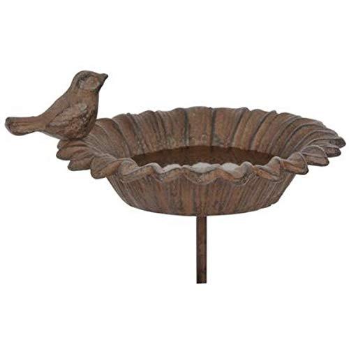 Outils et Nature Mangeoire ou Bain pour Oiseaux à Planter