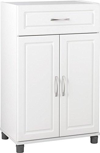 Ameriwood Kendall 1 Drawer/2 Door Base Storage Cabinet 24' White