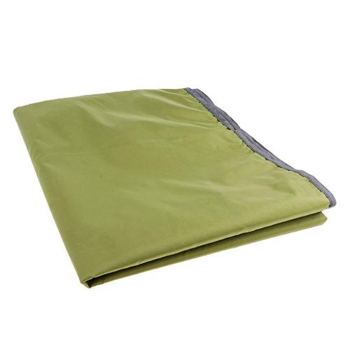perfk 2 Personen Zeltunterlage wasserdichte Zeltplane für Zelte, verschiedene Größen - M
