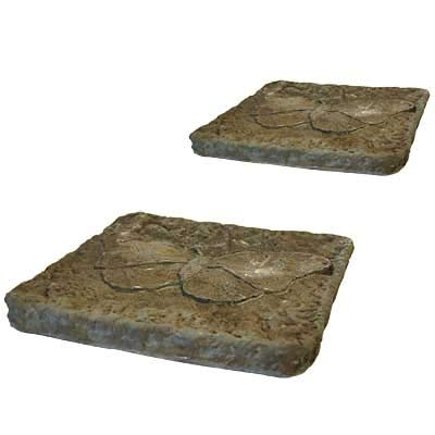 Athens Butterfly Stepping Stones, Cypress, Pack of 2