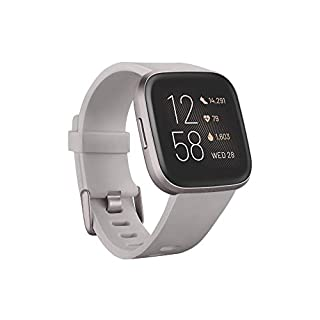 Fitbit Versa 2 Health & Fitness Smartwatch with Alexa built-in, Sleep Score & Music, Stone/Mist Grey (B07TYNMRZG) | Amazon price tracker / tracking, Amazon price history charts, Amazon price watches, Amazon price drop alerts