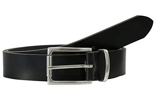 LLOYD Fashion Leather Belt W95 Black