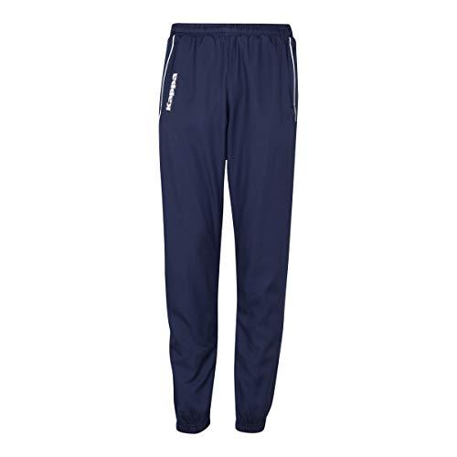 Kappa Taverno Pants, Unisex Erwachsene L Marineblau/Weiß
