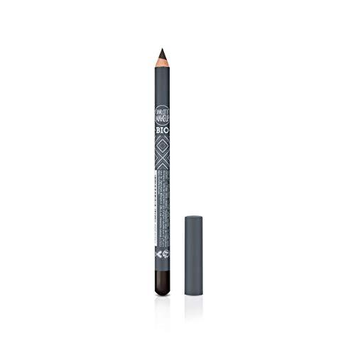Charlotte Make Up - Crayon pour les Yeux - Maquillage Bio - Marron - Couleur Intense - Texture Crémeuse - Fini Mat - Souligner ton Regard - 100% des Ingrédients d'Origine Naturelle