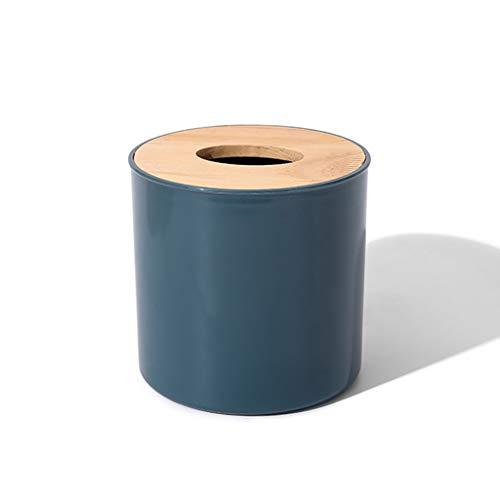SCASTOE Caja de pañuelos rollo de papel contenedor de almacenamiento creativo remoto caja de almacenamiento