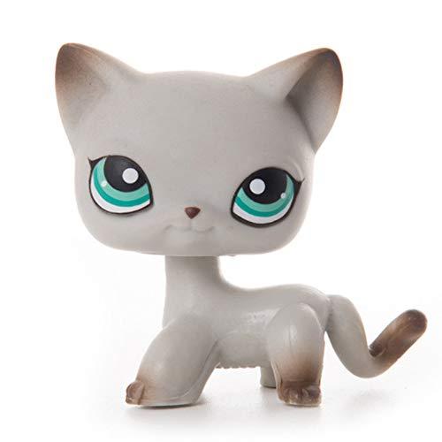 LPS Pet Shop presenta juguetes de muñecas de pelo corto gato colección figuras de acción de juguetes de cosplay juguetes niña juguetes a 24