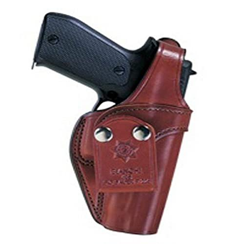 Bianchi, 3S Pistol Pocket Leather Holster, Plain Tan, Size 14, Right Hand