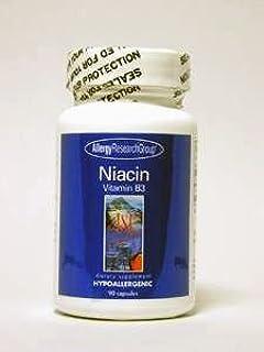 Allergy Research Group - Niacin Vitamin B3 250 mg 90 caps