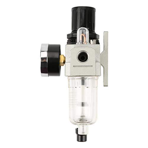 G1 / 4 Resistencia a altas temperaturas con manómetro AC2010-02 500L / min Regulador de presión de filtro de aire Regulador de filtro de aire de alta resistencia para aire para el hogar