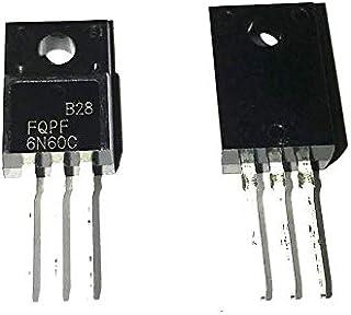 10PCS 10pcs / Lot N-Channel 600V 5.5A(Tc)40W(Tc)スルーホールTO-220F FQPF6N60C